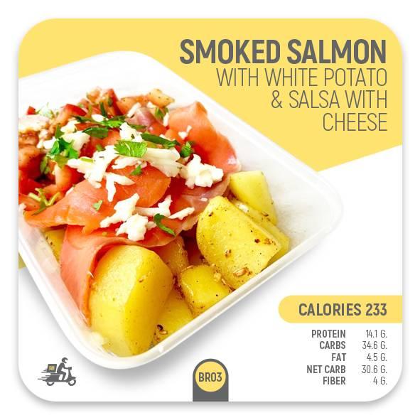 Smoked Salmon with White Potato – BR03