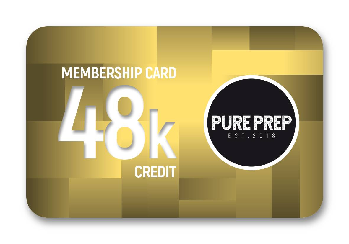 Buy credit with Pure Prep