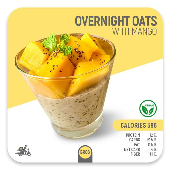 Overnight Oats with Mango – BR08