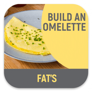 Build a fresh omelette your way