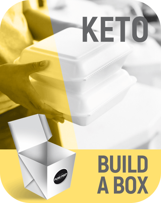 Build a nutritional box of Keto based food