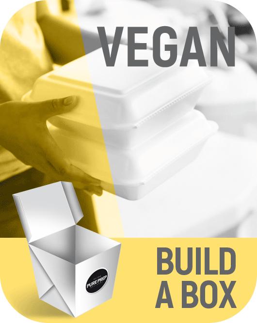 Build a nutritional box of Vegan food