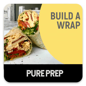 Build a fresh healthy wrap your way